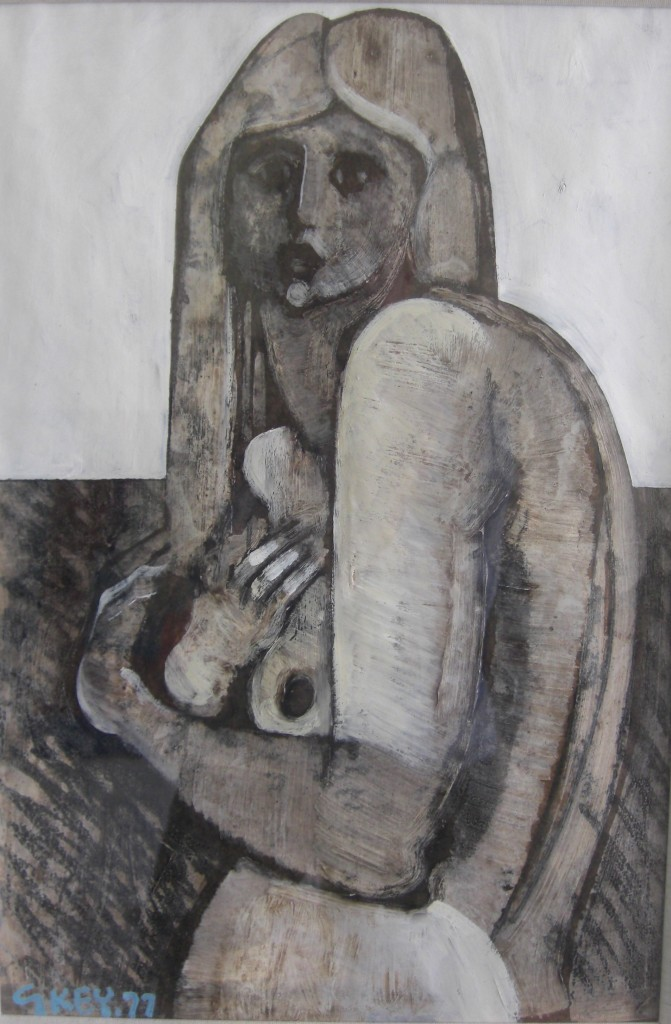 Girl with Long Hair 1977