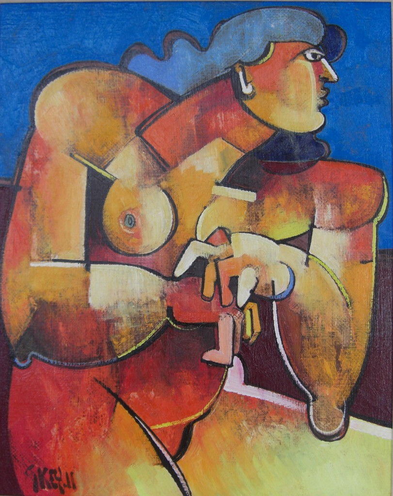Red Figure Blue Sky 2011