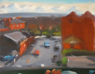 Liam Spencer Cake Bread Street from Studio Window