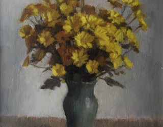 18. Alan J Thompson. Golden Chrysanthemum