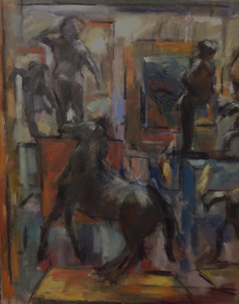 32. Ghislaine Howard. Homage to Degas