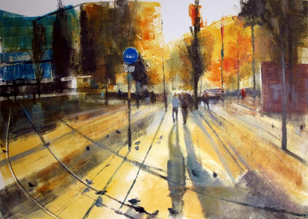03. Ian Jarman. Piccadilly Low Sun