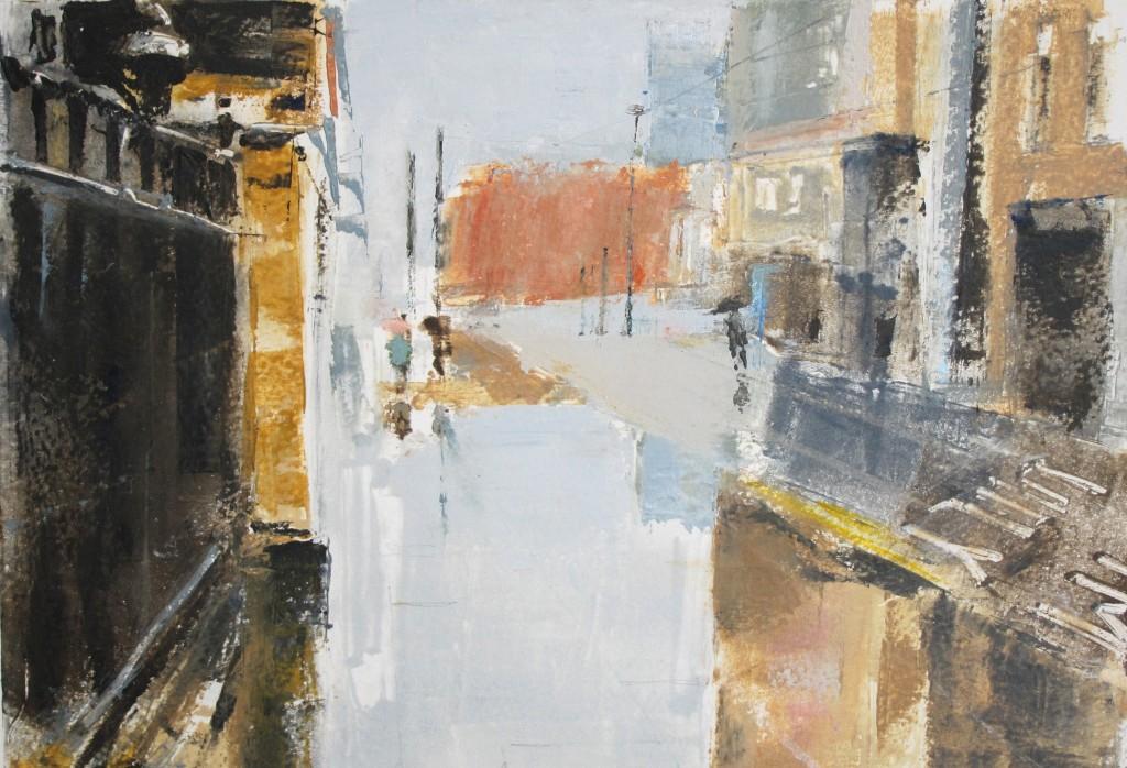 02. Ian Jarman. Wet Day Mosley Street