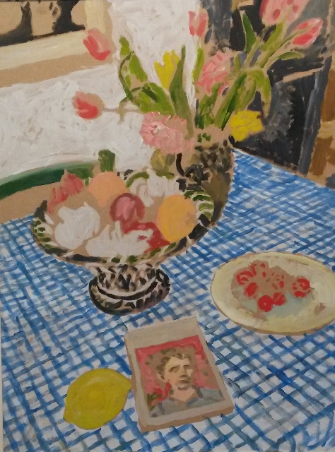 37. Michael Howard. The Chequered Tablecloth
