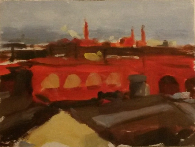 52. Liam Spencer. View from Hanover Mill 1994