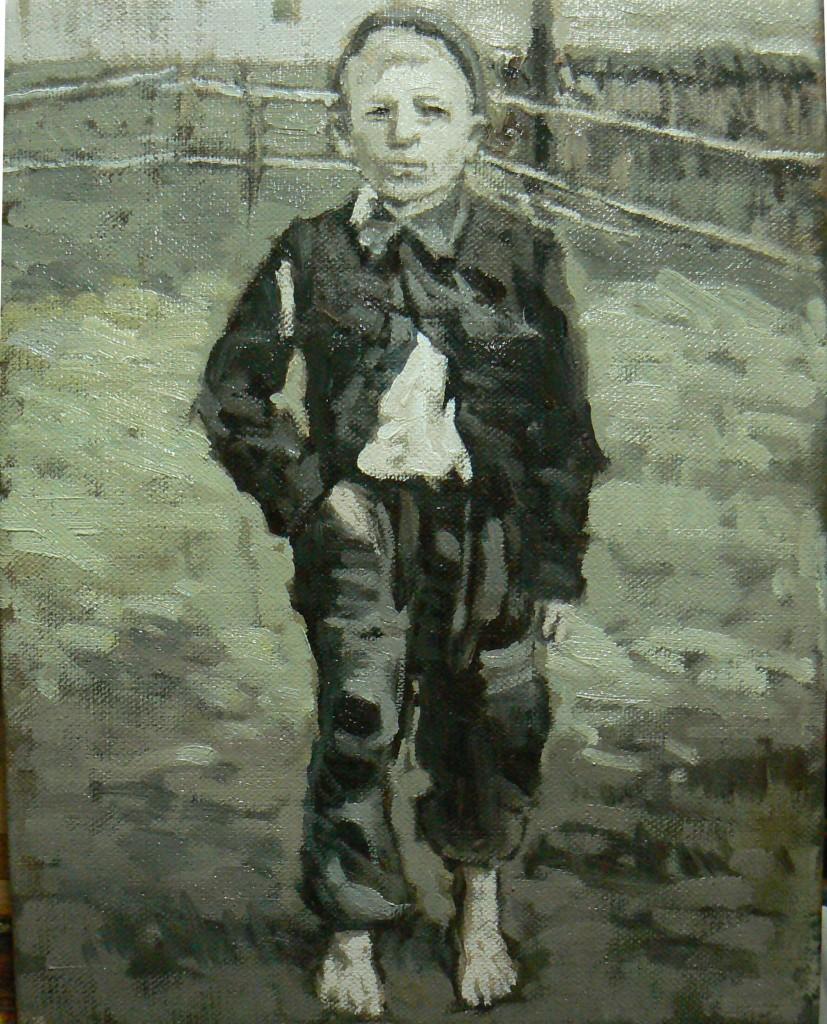 60. Janina Cebertowicz. Village Boy 2