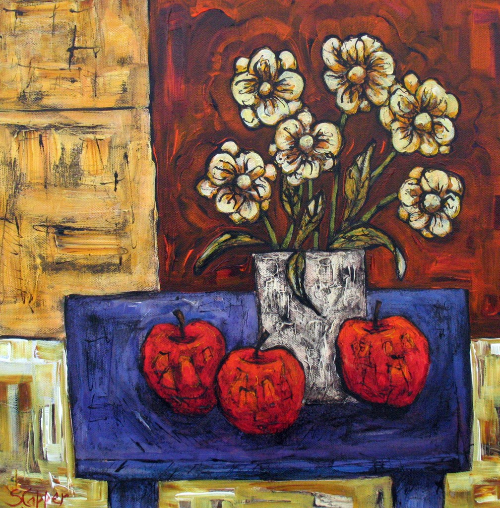 10. Steve Capper. Still Life with Daisies